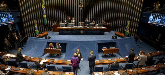 Brasília - Senado decide sobre medidas cautelares contra o senador Aécio Neves (Wilson Dias/Agência Brasil)