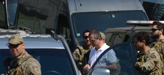 São Paulo - Saída dos empresários Joesley Batista e Ricardo Saud da Superintendência da Polícia Federal.
