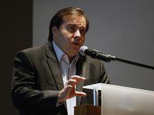 Rio de Janeiro - Seminário, na Câmara de Comércio Americana, debate segurança pública no Rio de Janeiro. Na foto o presidente da Câmara dos Deputados, Rodrigo Maia (Tânia Rêgo/Agência Brasil)