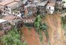 Áreas de Salvador são atingidas pelas fortes chuvas. Na foto, o Bairro do Lobato ( Manu Dias/GOVBA)